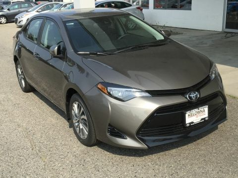 New 2018 Toyota Corolla XLE I Leather I Navigation I Moonroof