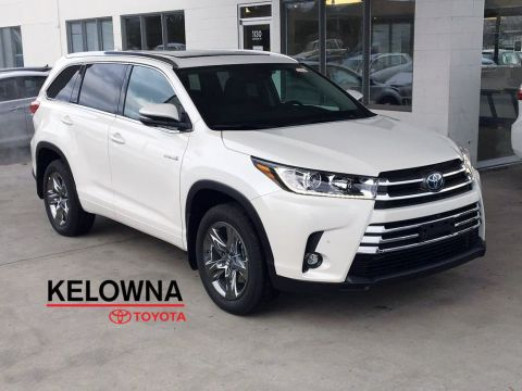 New 2019 Toyota Highlander Hybrid Limited I JBL Audio I Premium Paint