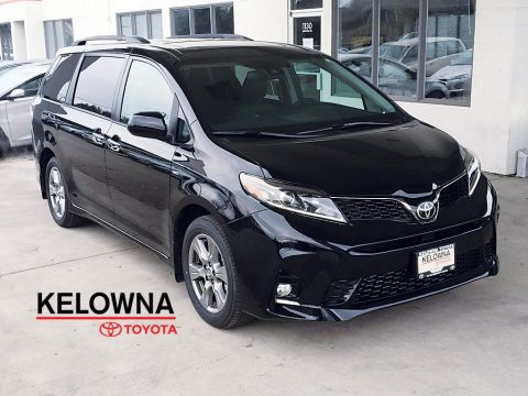 New 2019 Toyota Sienna SE I Technology Pkg. I JBL Audio I Navigation