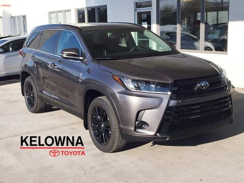 New 2019 Toyota Highlander XLE I SE Pkg. I 19 Inch Alloy Wheels