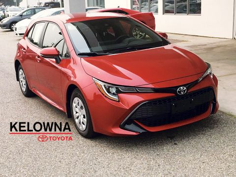 New 2019 Toyota Corolla Hatchback