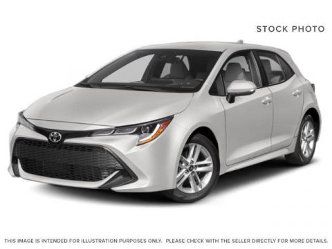 "New 2019 Toyota Corolla Hatchback SE Upgrade I 18"" Alloy Wheels I Heated Seats"