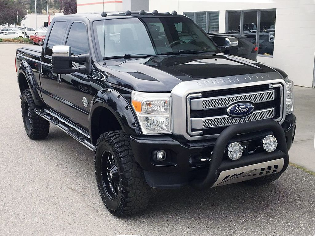 Pre-Owned 2013 Ford Super Duty F-350 SRW King Ranch Platinum