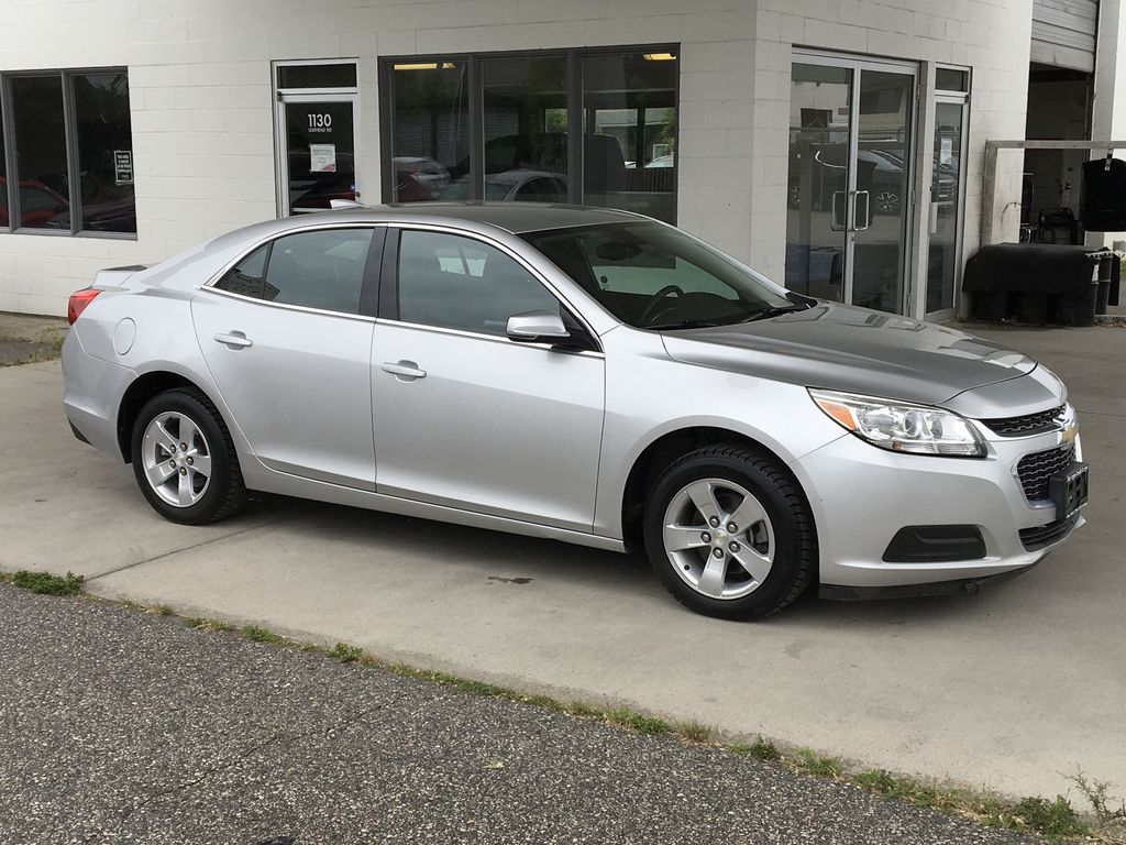 Pre-Owned 2016 Chevrolet Malibu Limited LT I Low Km's I Bluetooth
