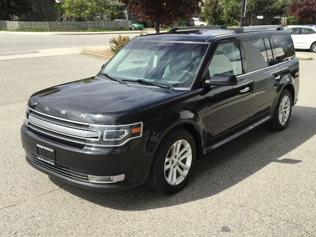 Pre-Owned 2014 Ford Flex Limited w/EcoBoost