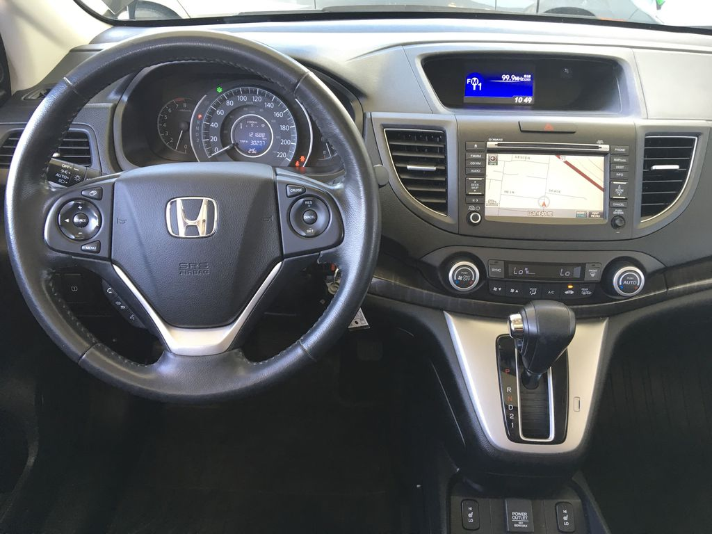 Pre-Owned 2014 Honda CR-V Touring I Leather I Climate Control A/C