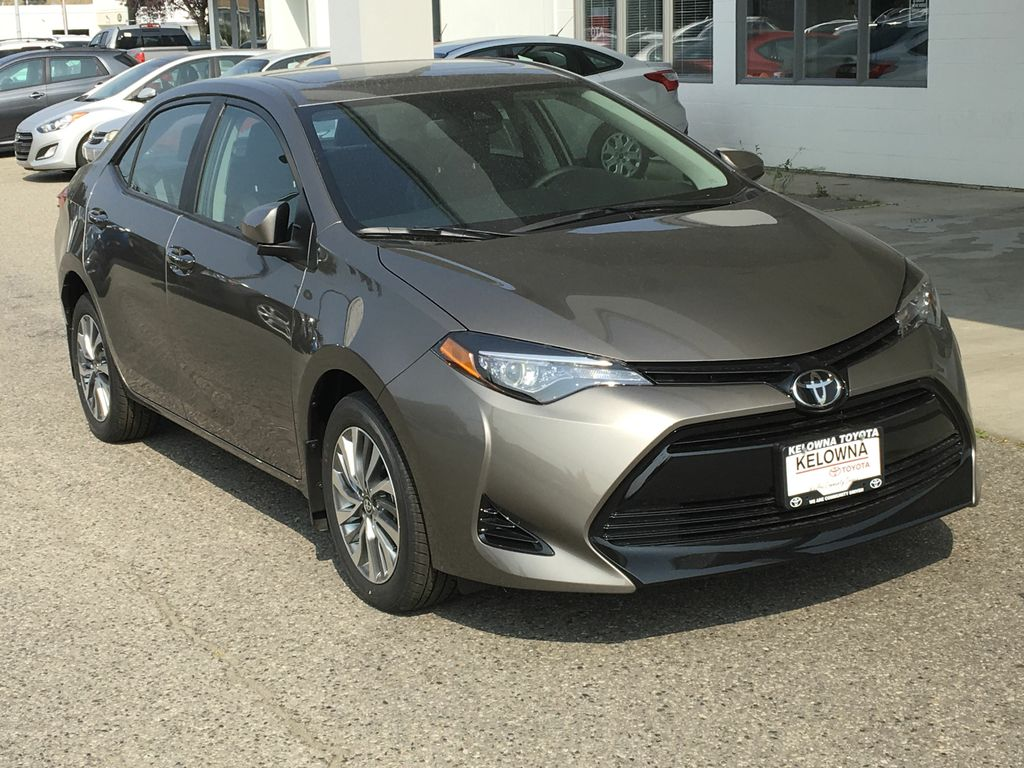 New 2018 Toyota Corolla $2500 Off Act Now Limited Stock!