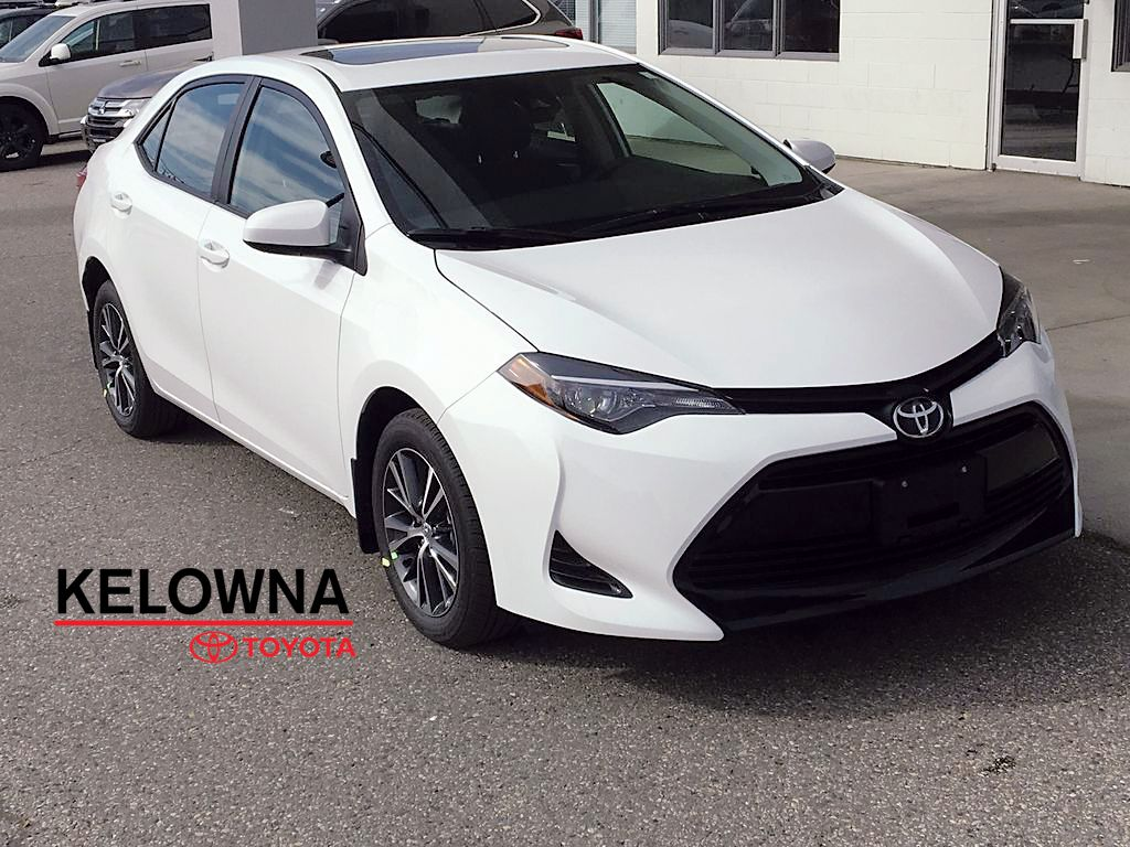 New 2019 Toyota Corolla Le I Upgrade Pkg I Moonroof I Heated