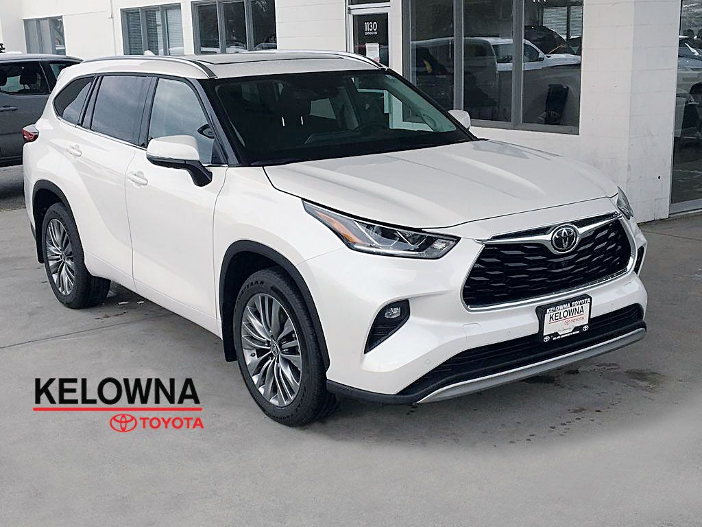 New 2020 Toyota Highlander Limited I Plantinum I Premium Paint