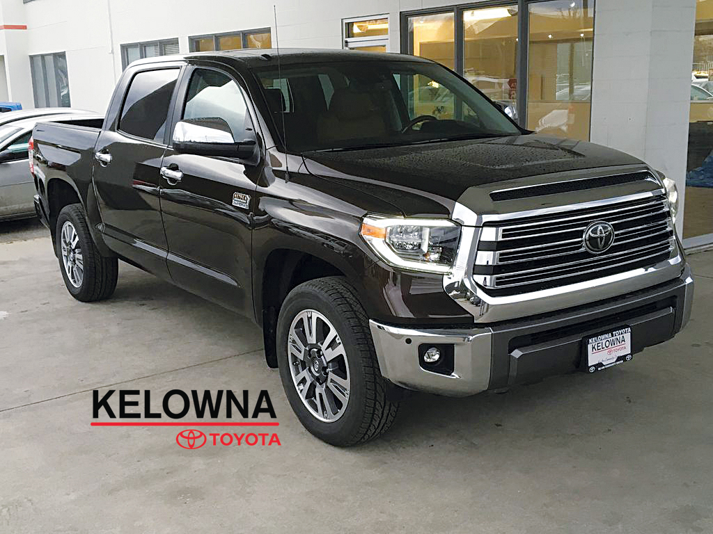 New 2018 Toyota Tundra Platinum I 1794 Edition I Navigation I Tow Pkg 4 Door Pickup In Kelowna
