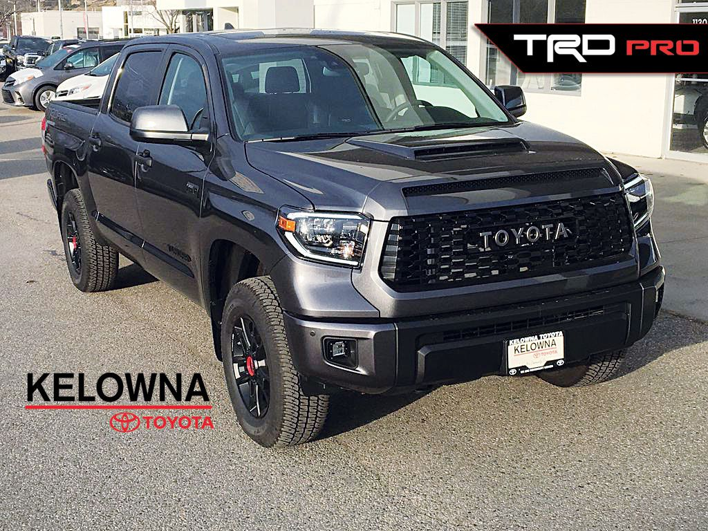 New 2020 Toyota Tundra TRD PRO I Fox Shocks I 18 Inch Forged Alloy Wheels