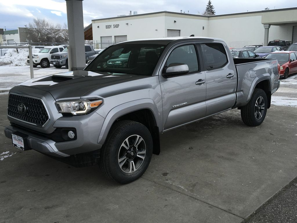 inventory new cab double wheel four truck drive trd tacoma toyota automatic bed sport
