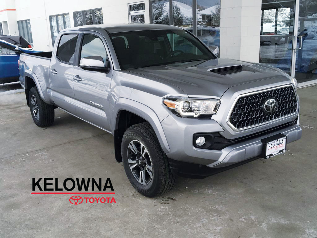 new 2018 toyota tacoma trd sport i sport tuned suspension i nav 4 door pickup in kelowna. Black Bedroom Furniture Sets. Home Design Ideas