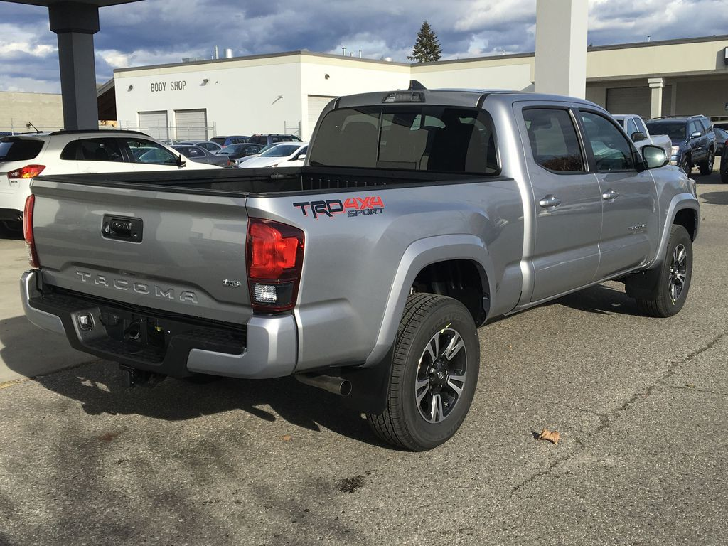 New 2019 Toyota Tacoma TRD Sport I Upgrade I Sport Tuned Suspension I  Leather Four Wheel Drive 4 Door Pickup