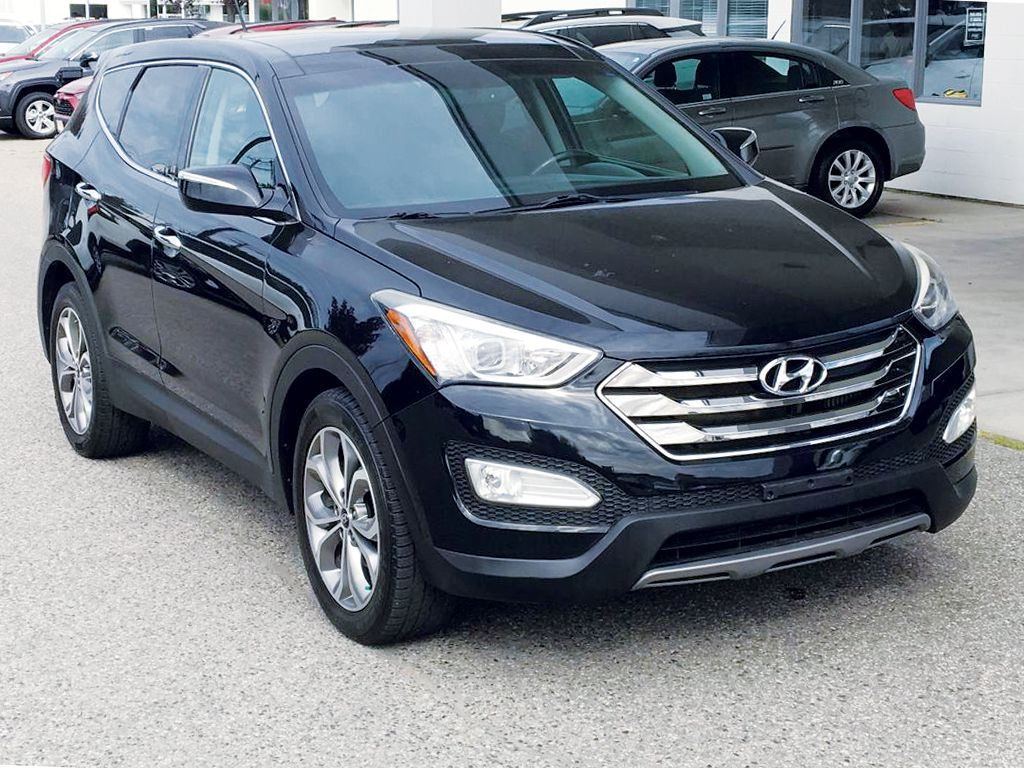 Used 2013 Hyundai Santa Fe Limited All Wheel Drive 4 Door Sport Utility