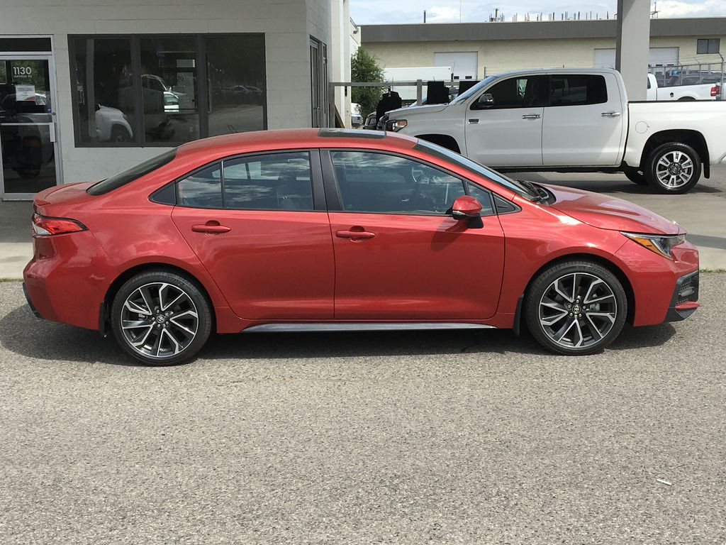 New 2020 Toyota Corolla SE I Upgrade I Moonroof I Wireless Charging