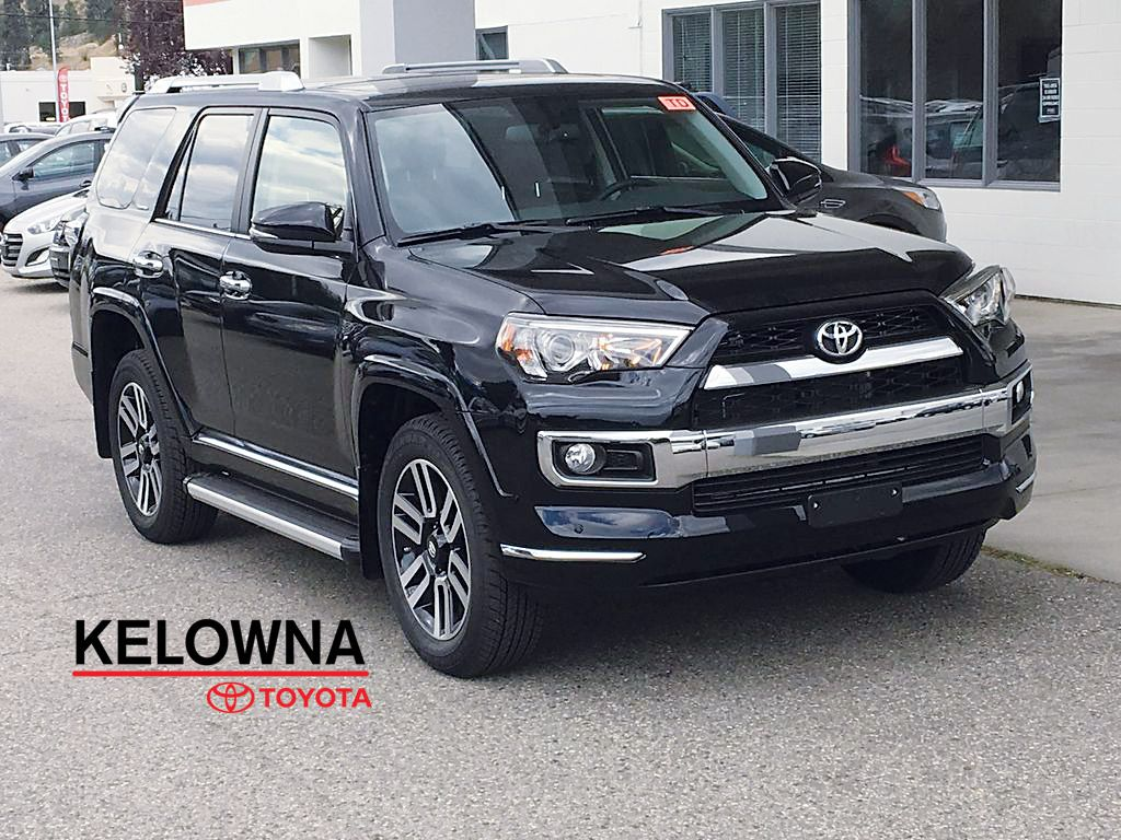 New 2019 Toyota 4runner Limited I X Reas Suspension Leather