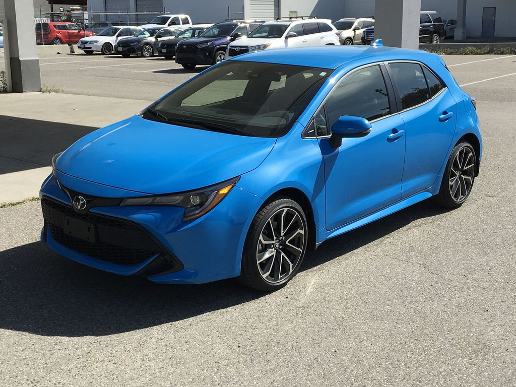New 2020 Toyota Corolla Hatchback SE Upgrade I Heated Seats I Apple and Android Compatible