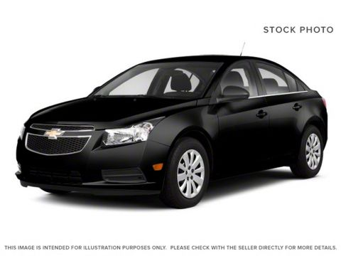 Pre-Owned 2011 Chevrolet Cruze LT Turbo+ w/1SB