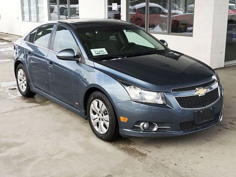 Pre-Owned 2012 Chevrolet Cruze LT Turbo+ w/1SB