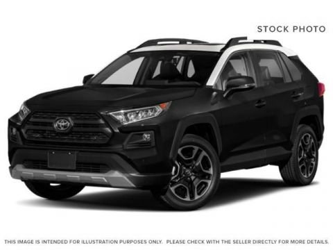 New 2019 Toyota RAV4 Trail I Drive Mode Select I 19 Inch Alloy Wheels