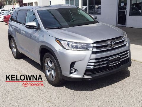 "New 2019 Toyota Highlander Limited I JBL Audio I 19"" Black Chrome Alloy Wheels"