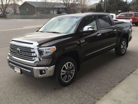 New 2020 Toyota Tundra Platinum 1794 Edition I Leather I Tow Package