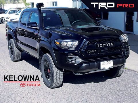 New 2019 Toyota Tacoma TRD PRO I Fox Shocks I TRD Leather