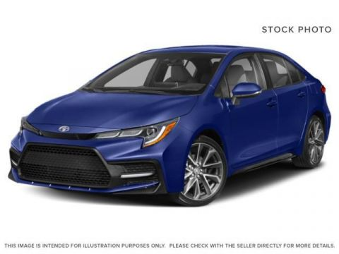 New 2020 Toyota Corolla XSE I 18 Inch Alloy Wheels I Paddle Shifters