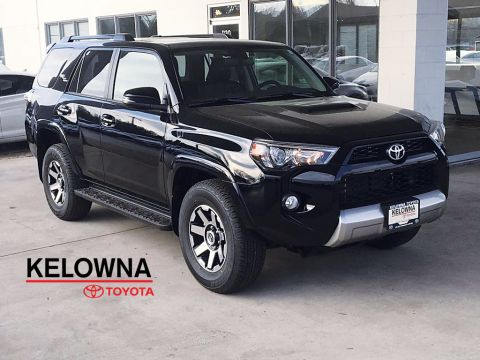 New 2019 Toyota 4Runner TRD Off Road I Crawl Control I Kinetic Dynamic Suspension