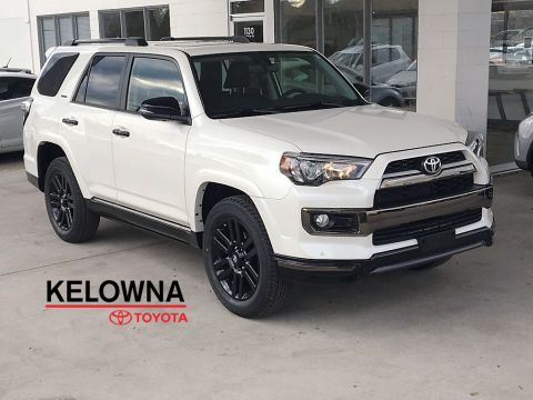 New 2019 Toyota 4Runner Nightshade I 20 Inch Black Alloy Wheels I Premium Paint